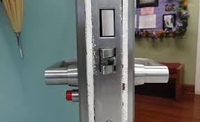 full image for school door lock magnets school lockdown door hardware school bathroom door locks securitechs