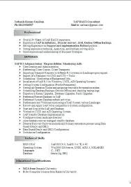 Sap Bi Resume Sample Sample Sap Resume 8 Sap Bi Resume Sample Bi