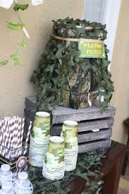 Blue Camouflage Party Decorations 17 Best Ideas About Camo Party Decorations On Pinterest Hunting