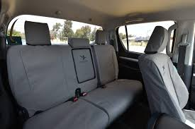 black duck canvas seat cover grey