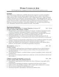 Sample Resume For Career Change Sample Resume For Executive