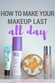 if you are taking the time to put on your makeup in the morning you definitely want to make sure you are taking the necessary steps so that makeup will
