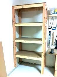 garage shelving plans wooden ideas shelves storage free wood diy wood garage shelves racks storage