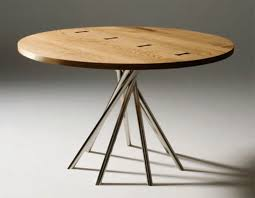 elegant modern round kitchen table 10 modest within home design