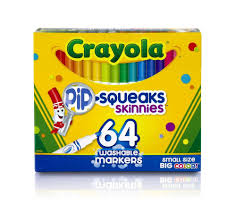 Details About Crayola Markers Kids Craft Supplies Washable Paint