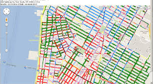 nyc street parking map with alternate side  roundtripticketme