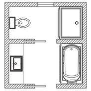 bathroom floor plans. Beautiful Floor PLAN 5 For Bathroom Floor Plans S