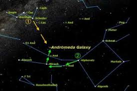 Your Sky Tonight Star Charts How To Find The Andromeda Galaxy Space