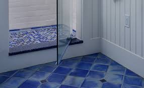 blue floor tiles. Beautiful Blue Creative Blue Bathroom Floor Tiles Within Tile Flooring Ideas For S