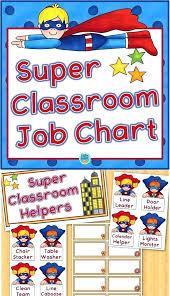 Kindergarten Job Chart Achievelive Co