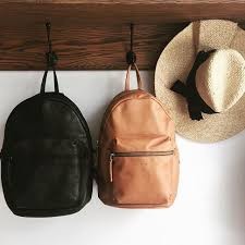 great partners backpack leather hat onesizefitsall baggubag baggu lolahats respice respicemiami concept miami sunsetdr
