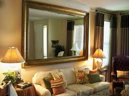 some living room wall decor mirrors ideas interior design
