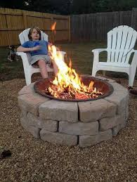 on a budget fire pit 10 diy outdoor fireplace ideas to combat the winter chill