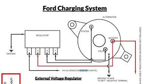 69 Mustang Voltage Regulator Wiring Diagram GM Voltage Regulator Wiring