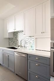 Charming Two Color Kitchen Cabinets Design Images Inspiration ...
