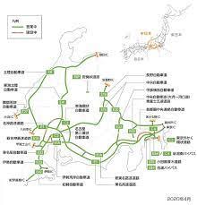 中 日本 高速 道路