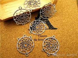 Purchase Dream Catchers Fascinating Online Cheap Dream Catcher Charms Antique Tibetan Silver