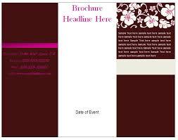 Free Printable Brochure Template Vastuuonminun