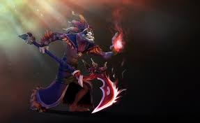 dazzle set dota game background wallpaper by chococruise