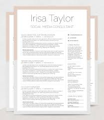 Resume Template Irisa Rockstarcvcomsunday 11th August 2019