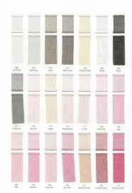 Colourfullife Physical Color Chart Polyester Organza Ribbon 84 Colors Available
