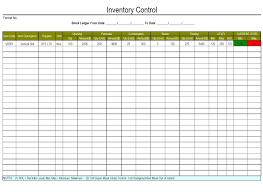 Printable Inventory Control Forms Printable