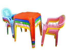 childrens kids plastic table and chair set includes 4 chairs choose your colour co uk kitchen home