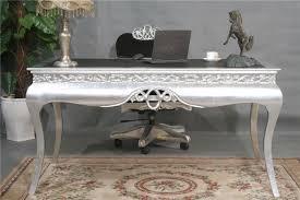 classical office furniture. European Post-modern Neo-classical Office Desk Den Furniture, Silver And Black Combination Classical Furniture Z