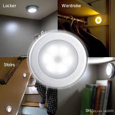 2019 battery powered motion sensor 6 led night light stick anywhere closet lights stair lights safe lights for hallway bathroom bedroom kitchen from akili09