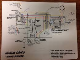 cb160 wiring question? honda motorcycle wiring diagrams pdf at Honda Cb160 Wiring Diagram