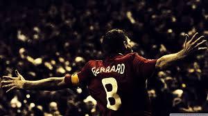 Steven Gerrard Football Ultra Hd Desktop Background