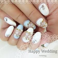 Wedding Nail Designs Pinterest 59 Unique Summer Wedding Nail Art Ideas To Make Your Nails