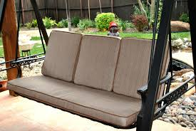 Back To Front Porch Swings Plan Swing Cushions Patio Replacement