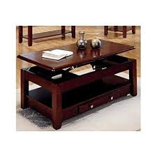 lift top coffee table with storage. Lift-top Coffee Table In Cherry Finish With Storage Drawers And Bottom Shelf By Lift Top E