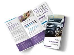 Business car insurance flyer template free vector 5 months ago. Auto Insurance Brochure Template Mycreativeshop