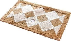 brown bath rugs fabric lattice mats bathroom kitchen mat car gm 3263112016
