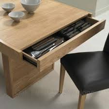 Dining table with drawers 5