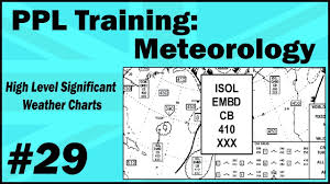 Ppl Training Meteorology 29 High Level Significant Weather Charts