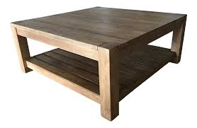 Crate And Barrell Coffee Table Crate And Barrel Edgewood Square Coffee Table Chairish