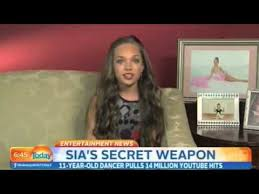mad ziegler interview at today show about being in sia s chandelier