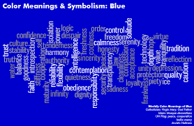 Color Meanings Chart Color Meanings Symbolism Chart Blue Algarve Blog