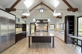 Small Picture Dark Floors Light Cabinets Kitchen 34 Kitchens With Dark Wood