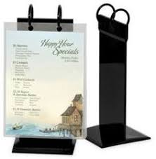 Restaurant Table Top Display Stands Menu Stands Restaurant Table Tents Table Stands and Card 68