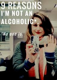 Hi My Name Is Holly And Im Not An Alcoholic Because There Is