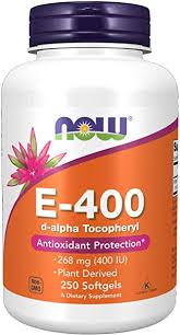 Now Supplements Vitamin E-400 IU D-Alpha ... - Amazon.com