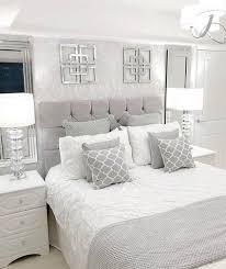 30 grey bedroom inspirations white