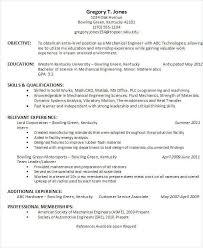 Best Engineering Resume Format Musiccityspiritsandcocktail Com