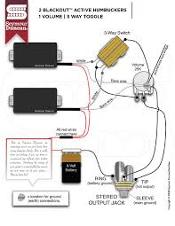 wiring diagrams seymour duncan part 33 2 blackouts 1 volume 3 way toggle