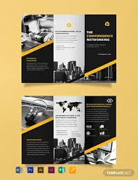 Ebrochure Template Free Professional Brochure Template Word Psd Indesign