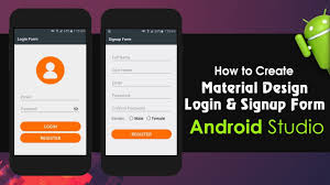 Android Studio Tutorial How To Create Material Design